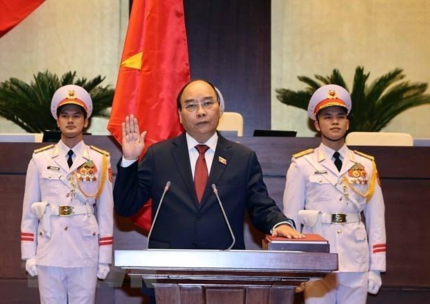 各国领导人向越南领导人致贺电、贺信和通电话表示祝贺 hinh anh 1