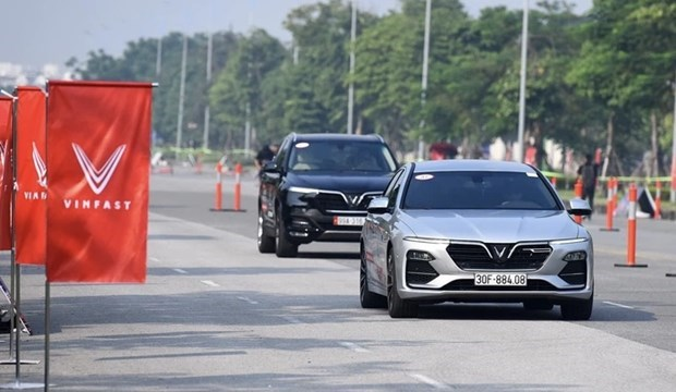 今年3月份VinFast的汽车交付量增长近36% hinh anh 1