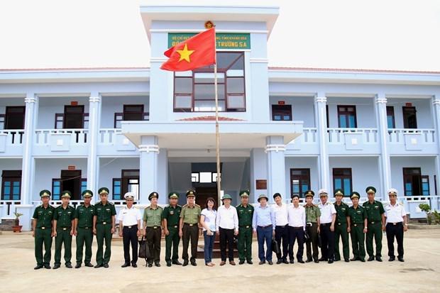 庆和省领导检查长沙镇国会和各级人民议会换届选举筹备工作 hinh anh 1