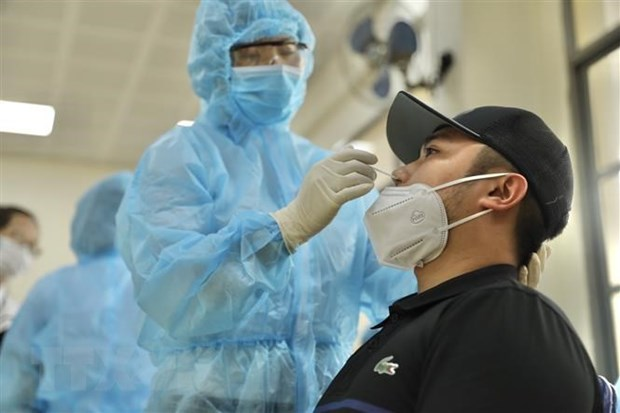 4月19日上午越南新增1例输入性病例 hinh anh 1
