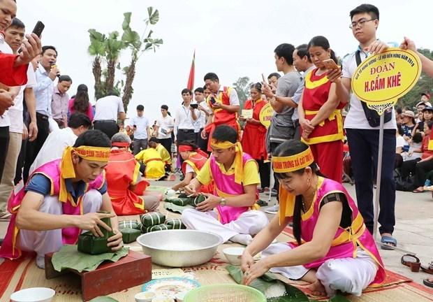 富寿省接待前来上香缅怀历代雄王的游客量超过6万人次 hinh anh 1