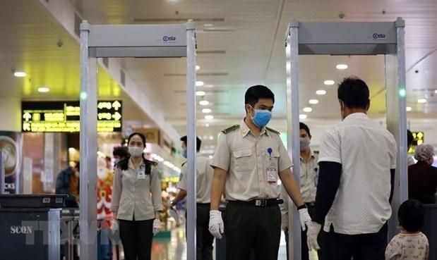4·30日和5·1假期:各航空港和机场采取一级安全检查措施 hinh anh 1