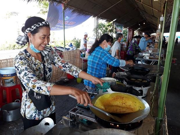 金瓯传统民间饼节:南方香味十足 hinh anh 3