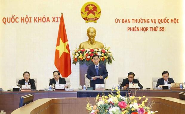 越南国会常务委员会第55次会议开幕 hinh anh 1
