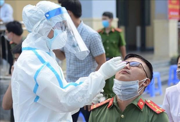 5月11日上午越南新增16例本土新冠肺炎确诊病例 hinh anh 1