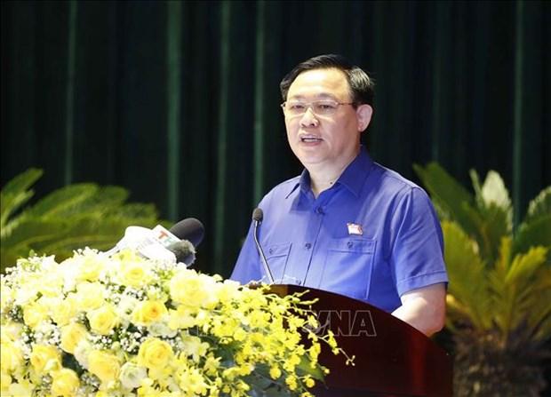 国会主席王廷惠:国会代表是国会活动中的核心 hinh anh 1