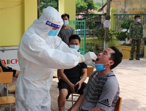 5月20日中午越南新增44例本土病例 hinh anh 1
