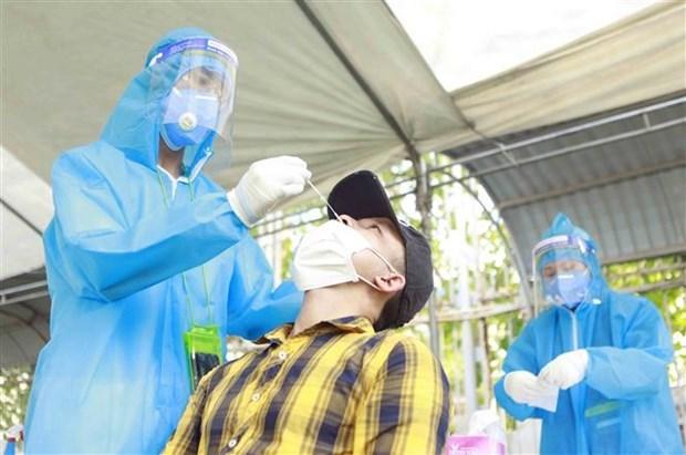 新冠肺炎疫情:20日上午越南报告新增确诊病例30例 hinh anh 1
