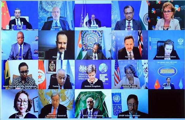 越南与联合国安理会:和平、稳定和安全是解决当前非洲面临挑战的先决条件 hinh anh 1