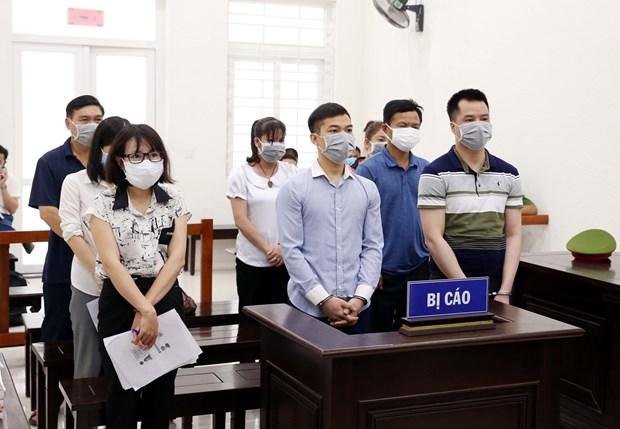 河内市人民法院开庭审理组织人员偷渡韩国案 hinh anh 1