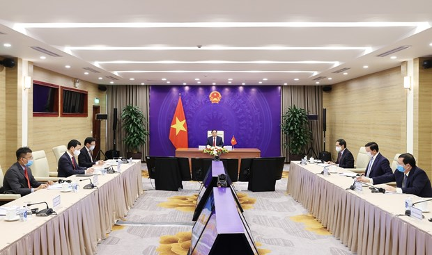 越南政府总理范明政:携手建设新冠疫情后纪元的和平、合作、更加蓬勃发展的亚洲 hinh anh 2