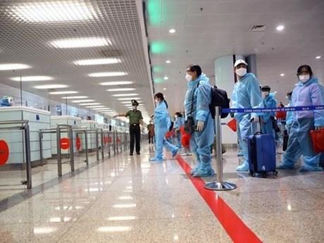 新山一机场5月27日起暂停接受入境旅客 hinh anh 1