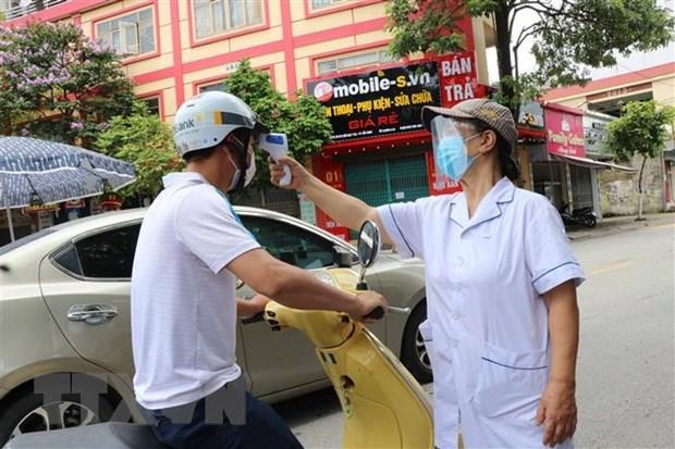新冠肺炎疫情:北宁省加大对工人和劳动者的监管力度 hinh anh 1
