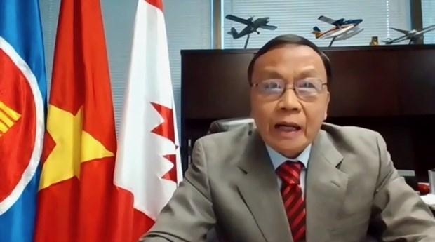 加拿大官员高度评价越南经济的活跃发展 hinh anh 2