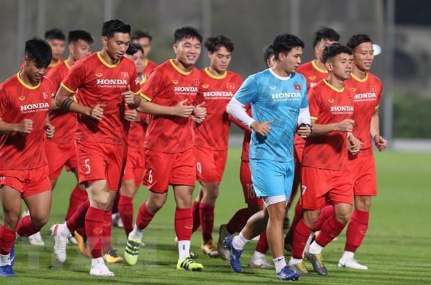 2020年世界杯预选赛:越南国足接受新冠检测 为与约旦队进行友谊赛做好准备 hinh anh 1