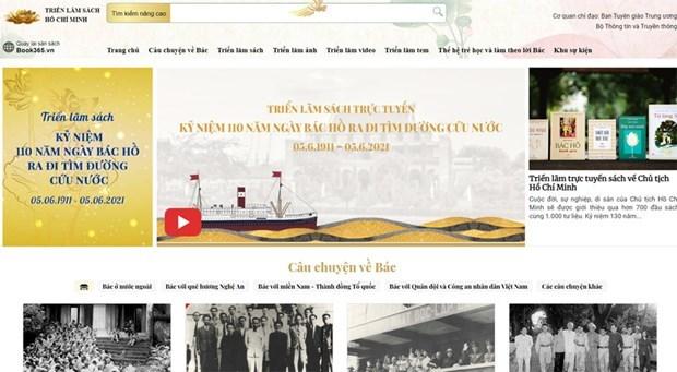 胡伯伯出国寻找救国之路110周年视频展览会和图书节开幕 hinh anh 2