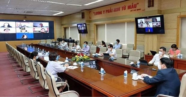 越南卫生部就新冠疫苗供应与Jonhson & Jonhson商谈 hinh anh 2