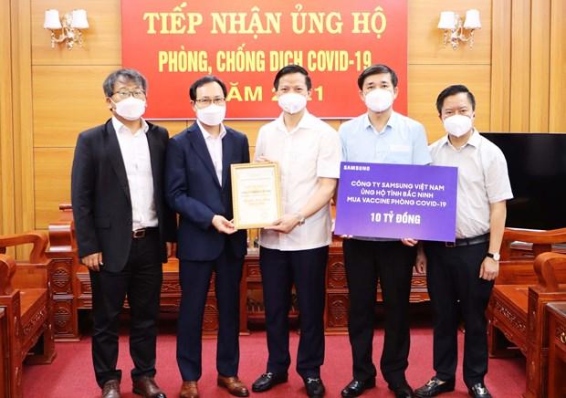 越南卫生部就新冠疫苗供应与Jonhson & Jonhson商谈 hinh anh 3
