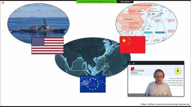 国际学者强调了UNCLOS和PCA裁决在解决东海问题的重要性 hinh anh 2