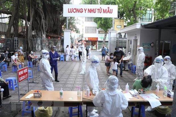 7月10日中午越南新增792例确诊病例 hinh anh 1
