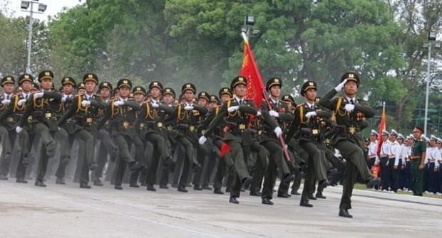 苏林大将:着力弘扬英雄传统精神 出色完成各项工作任务 hinh anh 1