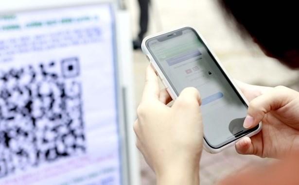 胡志明市通过移动应用程序报送新冠病毒检测结果 hinh anh 1