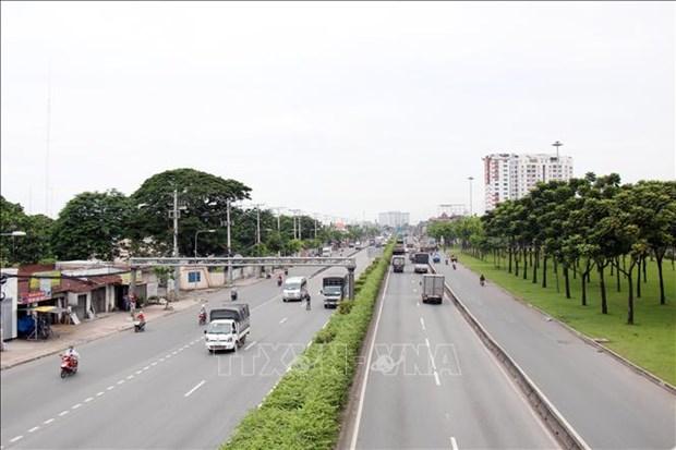 胡志明市为运输生活生产必需品的车辆出行便利签发超过1.2万个识别证 hinh anh 1