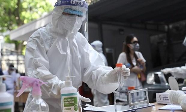 截至7月12日上午越南累计新冠肺炎确诊病例超3万例 hinh anh 1