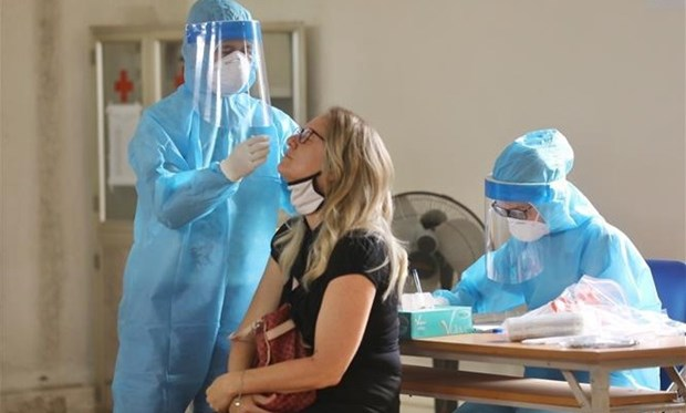 7月12日中午越南新增1112例新冠肺炎确诊病例 hinh anh 1