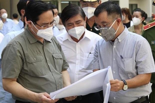 范明政总理:从现在到月底将有至少200万剂新冠疫苗到达胡志明市 hinh anh 2