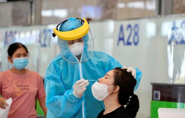 内排机场7月10日起为旅客提供新冠病毒快速检测服务 hinh anh 1