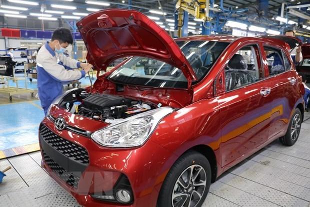 提高汽车工业产业的竞争力 hinh anh 1