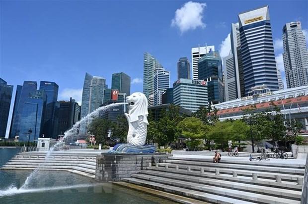 2021年第二季度新加坡经济增长14.7% hinh anh 1
