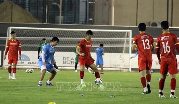 2022年世界杯亚洲区预选赛:对阵沙特阿拉伯队 越南队已万事俱备 hinh anh 1