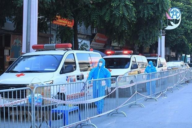8月31日河内市新增新冠肺炎确诊病例13例 均为隔离人员 hinh anh 1