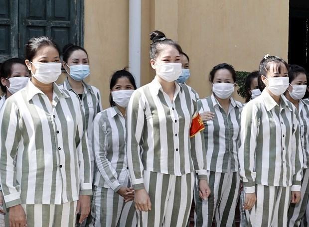 国家主席决定特赦3000多名囚犯 hinh anh 1