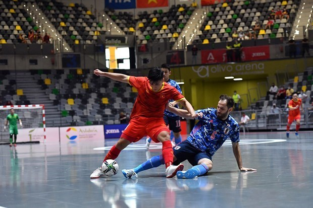 2021 年立陶宛五人制足球世界杯开赛在即 越南队表现令人刮目相看 hinh anh 1
