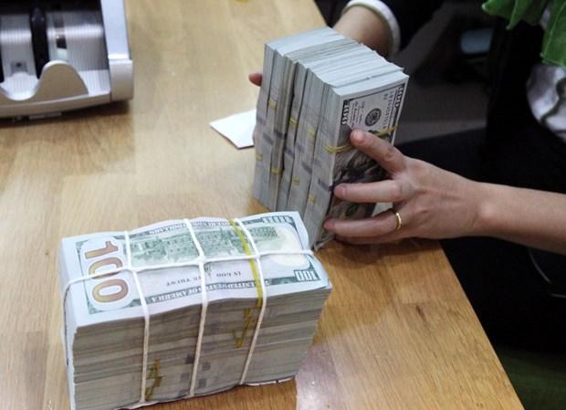 8月31日上午越盾对美元汇率中间价上调12越盾 hinh anh 1