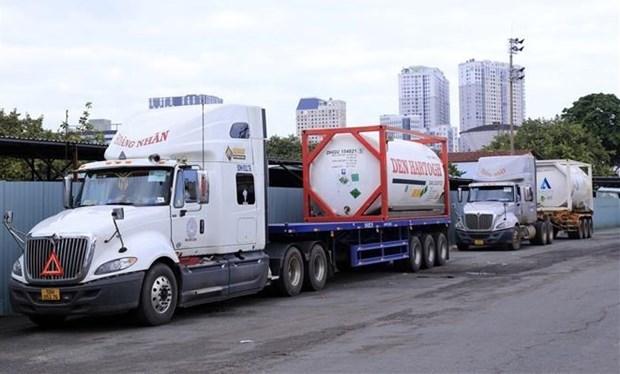 越南接收由印度政府捐赠的一批医疗设备 hinh anh 2