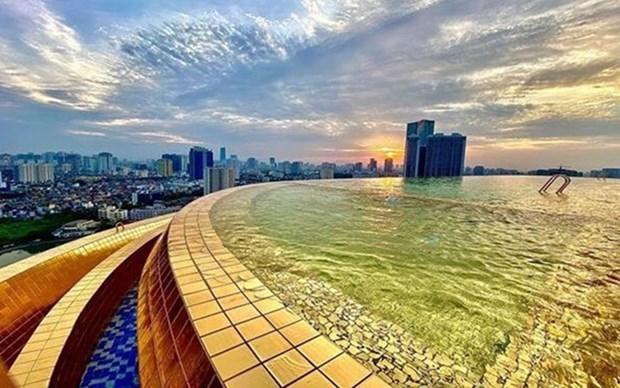金湖酒店——河内市中心别具一格的奢华酒店 hinh anh 2