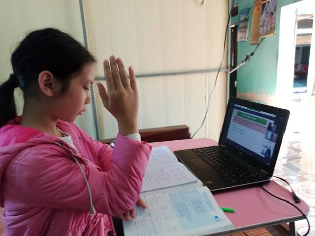 越南政府副总理武德儋: 确保疫情之下的教学效果 hinh anh 2