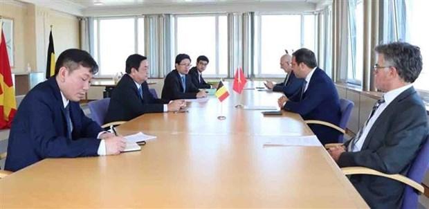 越南与比利时加强进口彼此的农产品 hinh anh 1