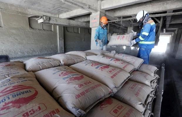 今年前8月越南水泥出口同比增长12% hinh anh 1