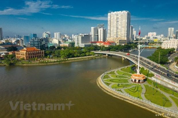 新冠肺炎疫情:胡志明市按每个地方的特定条件调整社交距离措施 hinh anh 1