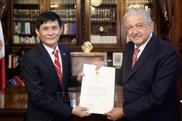 墨西哥总统重视与越南的友好合作关系 hinh anh 1