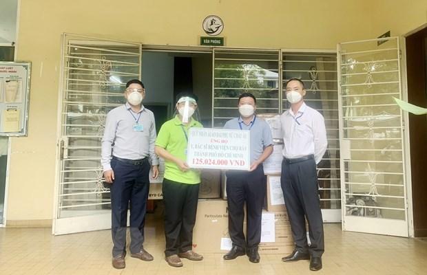 海外越南人捐赠款物支持国内新冠肺炎疫情防控 hinh anh 1