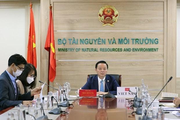 越南与韩国加强环保领域的合作 hinh anh 1