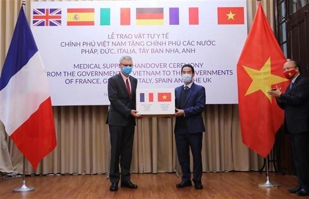 越南驻法大使丁全胜肯定越法关系中的重大发展步伐 hinh anh 2