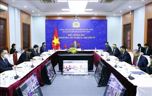 越南与中国加强打击犯罪的合作 hinh anh 1