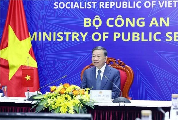 越南与中国加强打击犯罪的合作 hinh anh 2